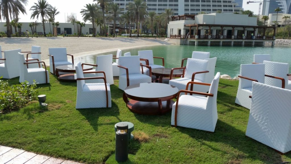 Sheraton Hotel Synthetic Rattan Furniture Project