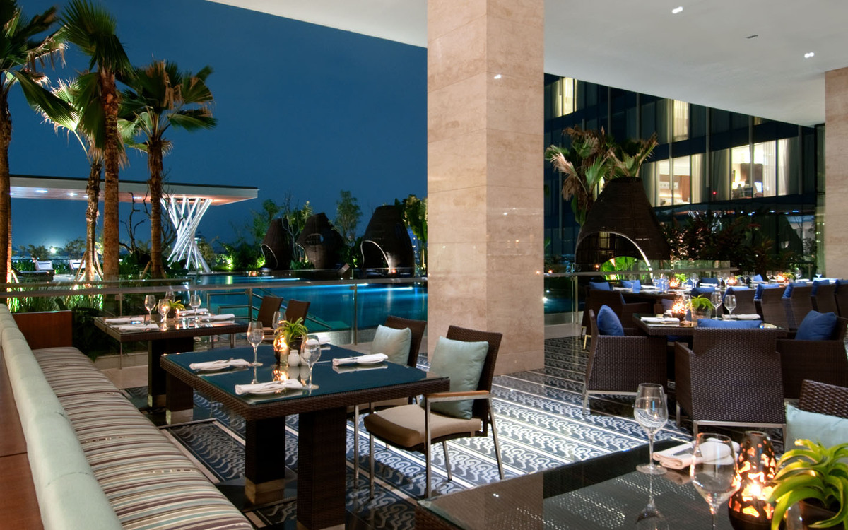Hilton Hotel Synthetic Rattan Furniture Project