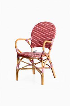 Clementine Bistro Chair perspektiv | Bistro Chair | Rattan Chair | Synthetic Rattan Chair | Synthetic Rattan Funiture | Rattan Furniture | Cirebon Rattan