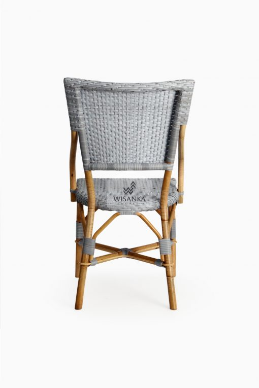 Sidney Dining Bistro Chair-back |Sidney bistro chair | Sidney rattan chair | Sidney rattan dining chair | Sidney rattan bistro chair | Sidney dining arm chair