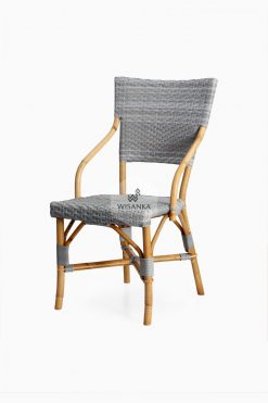 Sidney Dining Bistro Chair |Sidney bistro chair | Sidney rattan chair | Sidney rattan dining chair | Sidney rattan bistro chair | Sidney dining arm chair