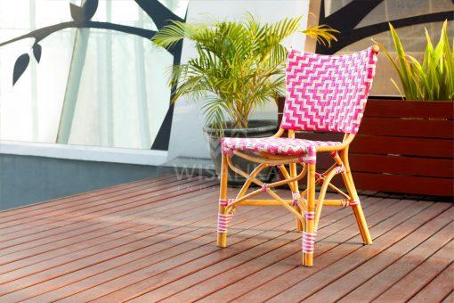 Carla Bistro Chair | Carla Rattan Dining Chair | Carla Rattan Bistro Chair