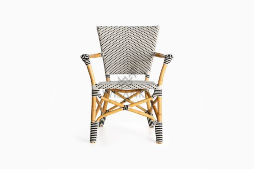 Lucky Bistro wicker rattan Chair front