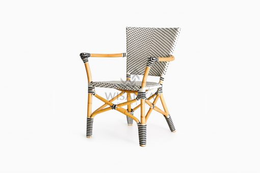 Lucky Bistro wicker rattan Chair perspective
