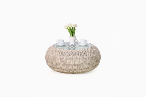Carmo Wicker Coffee Table front