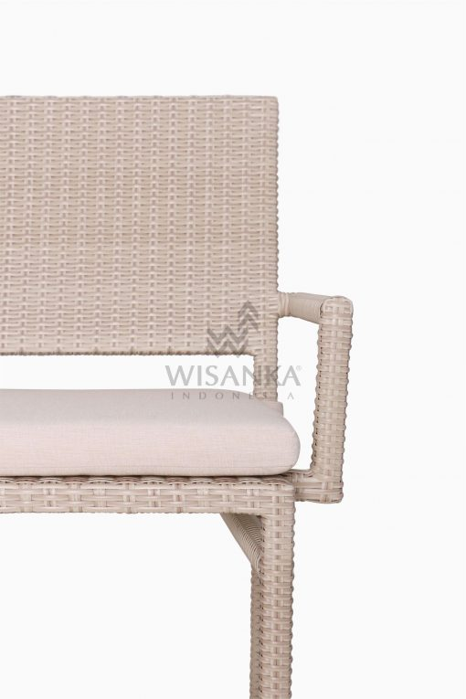 Casanova Outdoor Rattan Wicker Arm Chair Detail 1