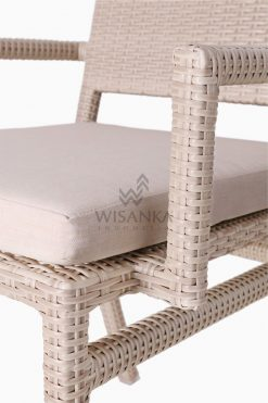 Casanova Outdoor Rattan Wicker Arm Chair Detail 2