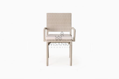 Casanova Outdoor Rattan Wicker Arm Chair front