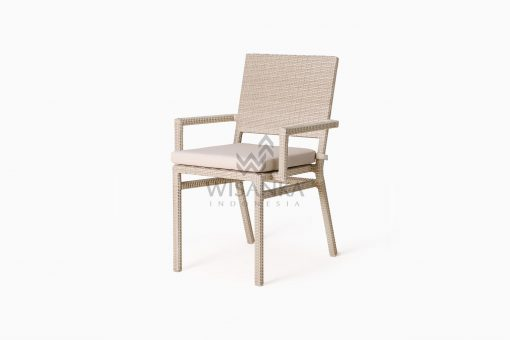 Casanova Outdoor Rattan Wicker Arm Chair perspective