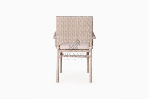 Casanova Outdoor Rattan Wicker Arm Chair rear