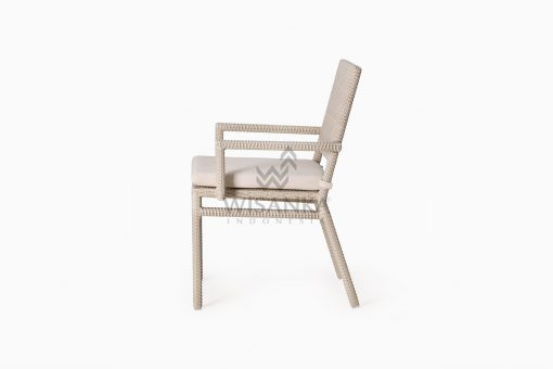Casanova Outdoor Rattan Wicker Arm Chair side