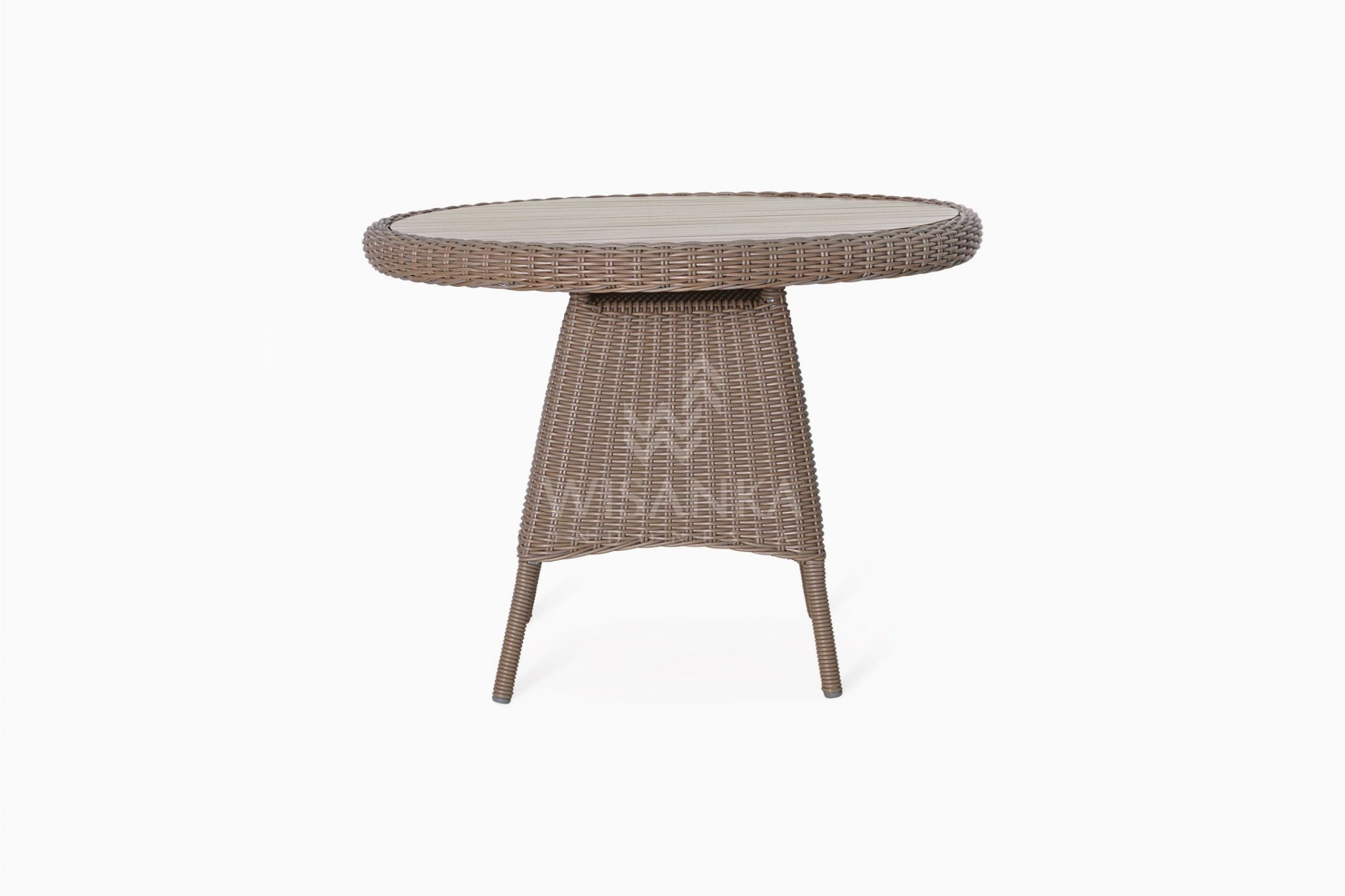 Flora Outdoor Wicker Dining Table Synthetic Rattan Furniture