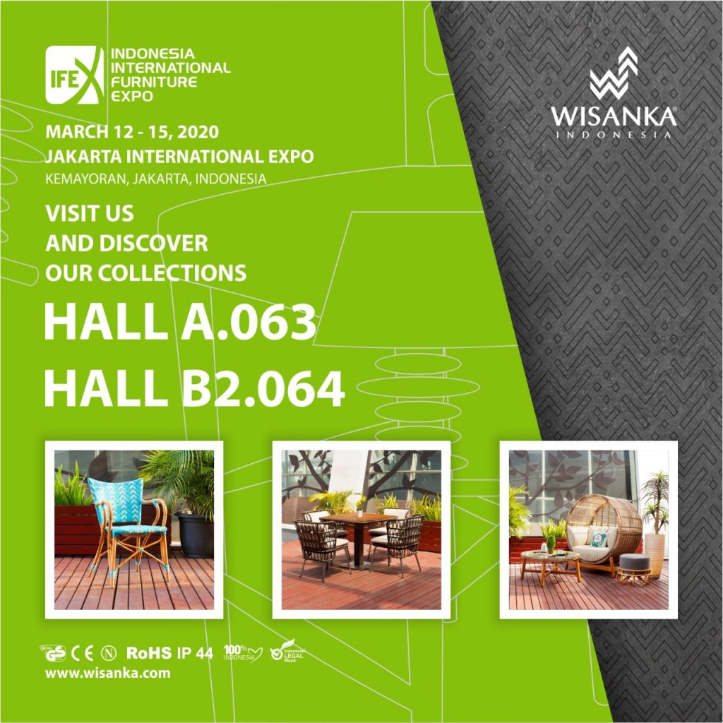 Indonesia International Furniture Expo 2020 Invitation