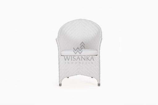 Frey Wicker Outdoor Rattan Arm Chair front