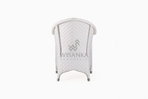 Frey Wicker Outdoor Rattan Arm Chair rear