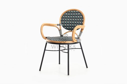 Aira Bistro Chair, Wicker Rattan Chair perspective