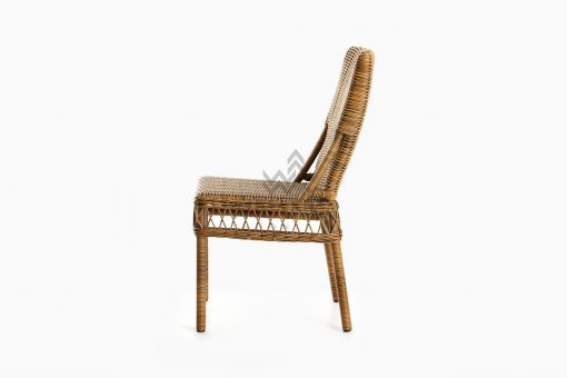 Arte Dining Chair - Outdoor Wicker Dining Chair side