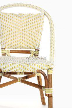 Elle Bistro Chair - Wicker Dining Chair Detail 1