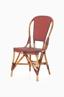 Clady Rattan Dining Bistro Chair perspective