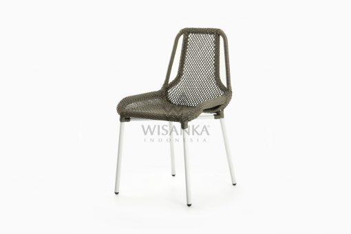 Millen Rope Bistro Side Chair perspective