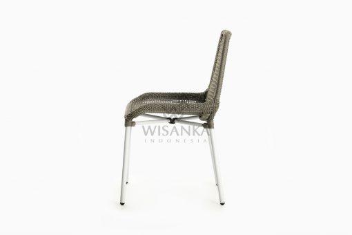 Millen Rope Bistro Side Chair side