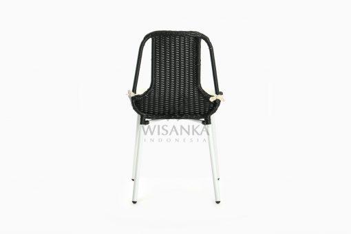 Millen Valensie Outdoor Rattan Chair rear