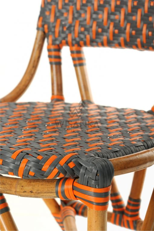 Liko Rattan Bistro Chair for Restaurant and Cafe FurnitureDetail 2