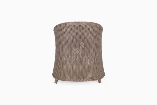 Molde Outdoor Rattan Patio Arm Chair rear