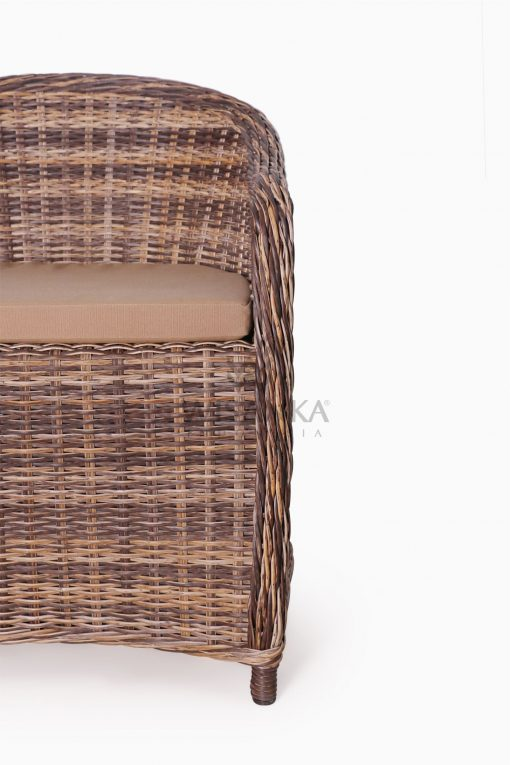 Molde Synthetic Rattan Outdoor Arm Chair Detail 1