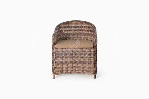 Molde Synthetic Rattan Outdoor Arm Chair front