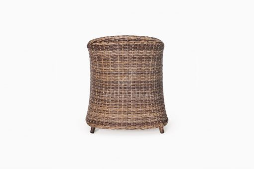 Molde Synthetic Rattan Outdoor Arm Chair rear