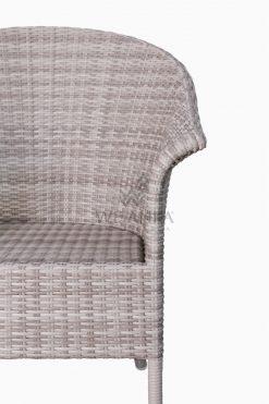 Subang Patio Rattan Outdoor Arm Chair Detail 1