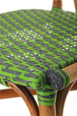 Yori Outdoor Rattan Bistro Chair Detail 2