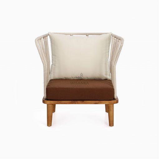 Anjani Terrace Chair - Outdoor Rattan Patio Furniture front