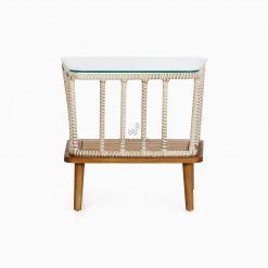 Anjani Terrace Table - Outdoor Rattan Patio Furniture rear
