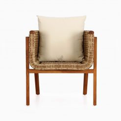 Arka Terrace Chair - Outdoor Rattan Patio Furniture front