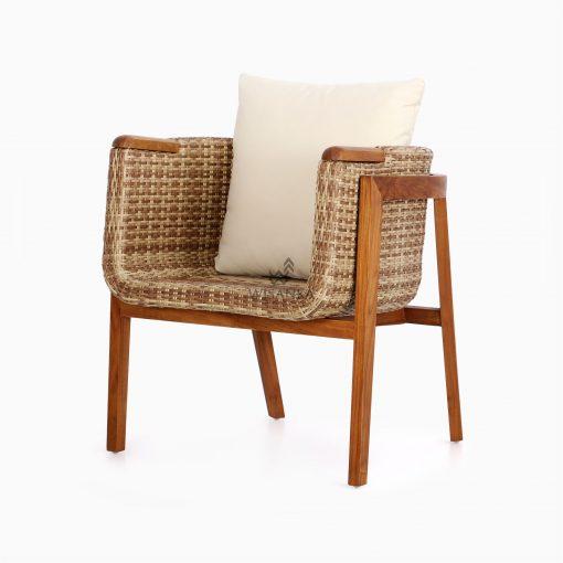 Arka Terrace Chair - Outdoor Rattan Patio Furniture perspecive