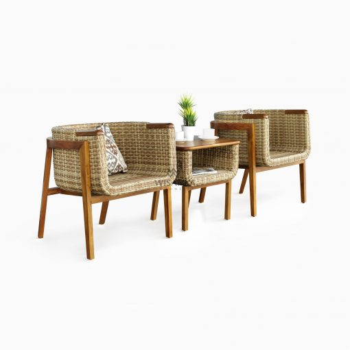 Arka Terrace Set - Outdoor Rattan Patio Furniture