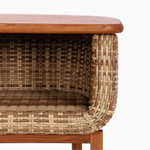 Arka Terrace Table - Outdoor Rattan Patio Furniture detail 2