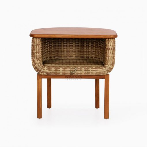 Arka Terrace Table - Outdoor Rattan Patio Furniture front
