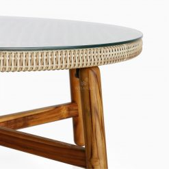 Orza Coffe Table - Outdoor Rattan Patio Furniture detail