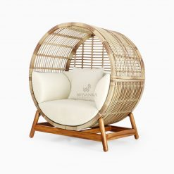 Orza Daybed - Outdoor Rattan Patio Furniture perspective