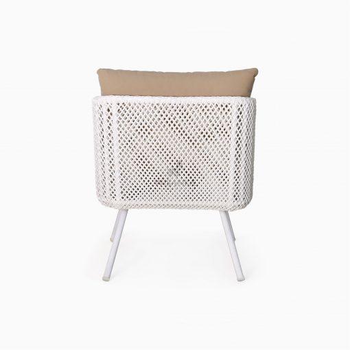 Clarendon Arm Chair - Outdoor Rattan Patio Furniture rear
