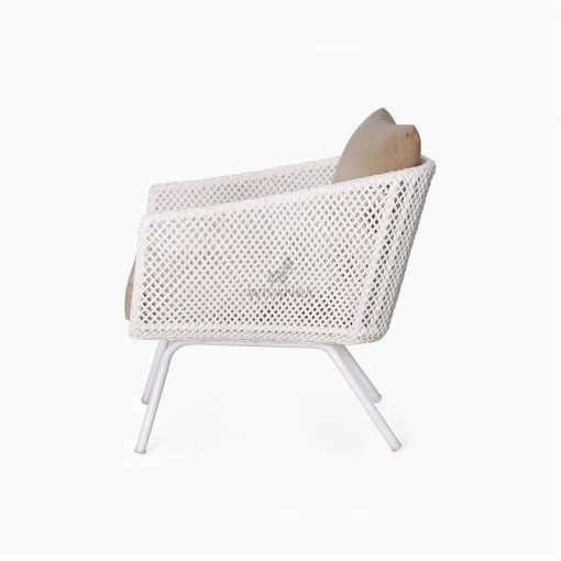 Clarendon Arm Chair - Outdoor Rattan Patio Furniture side
