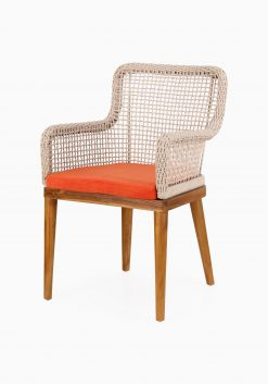 Fattana Dining Chair- Outdoor Rattan Patio Furniture