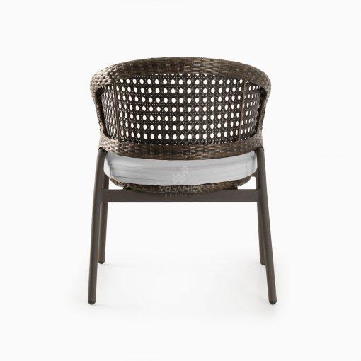 Kent Outdoor Chair - Rattan Patio Furniture rear