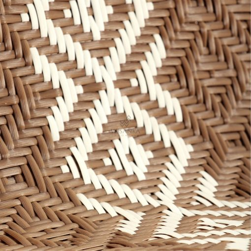 Neysa Occasional Chair - Outdoor Rattan Patio Furniture detail